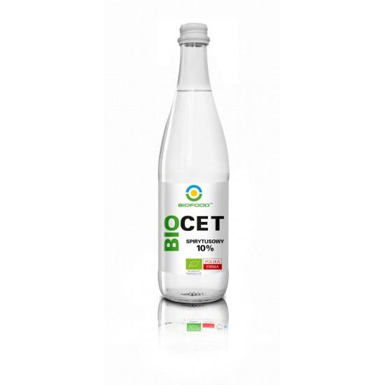 OCET SPIRYTUSOWY 10% BEZGLUTENOWY BIO 500 ml - BIO FOOD
