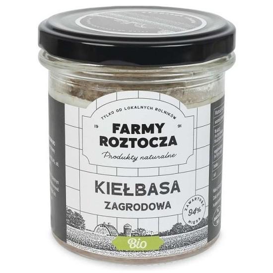 KIEŁBASA ZAGRODOWA BIO 250 g (SŁOIK) - FARMY ROZTOCZA