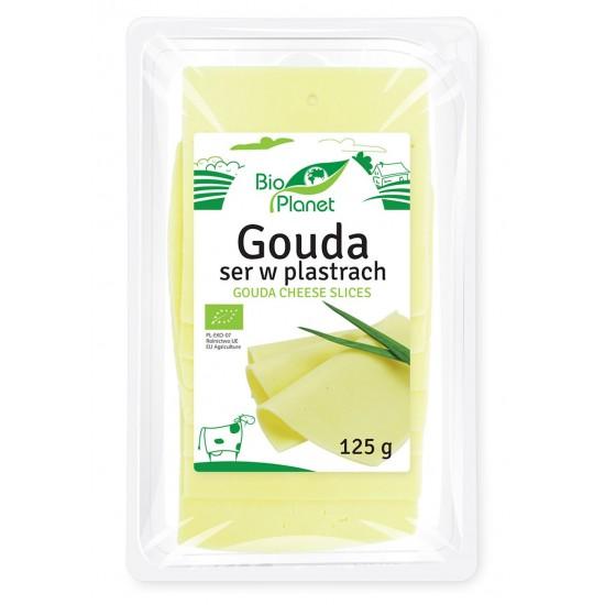 SER GOUDA PLASTRY 125 g - BIO PLANET