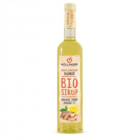 SYROP IMBIROWO - CYTRYNOWY BIO 500 ml - HOLLINGER