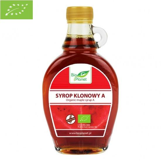 SYROP KLONOWY A BEZGLUTENOWY BIO 250 ml - BIO PLANET