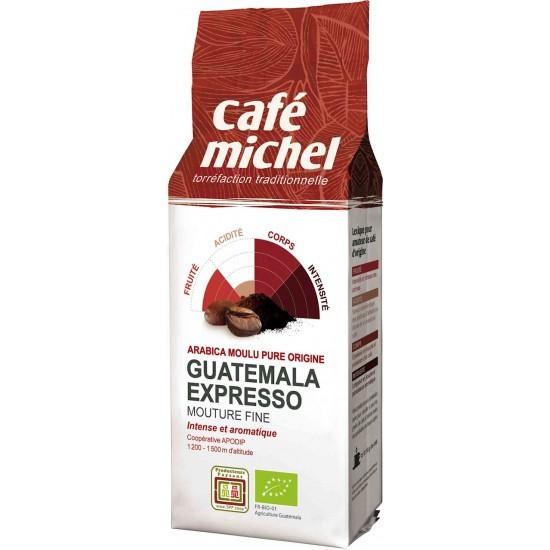 KAWA MIELONA ARABICA 100% ESPRESSO GWATEMALA FAIR TRADE BIO 250 g - CAFE MICHEL