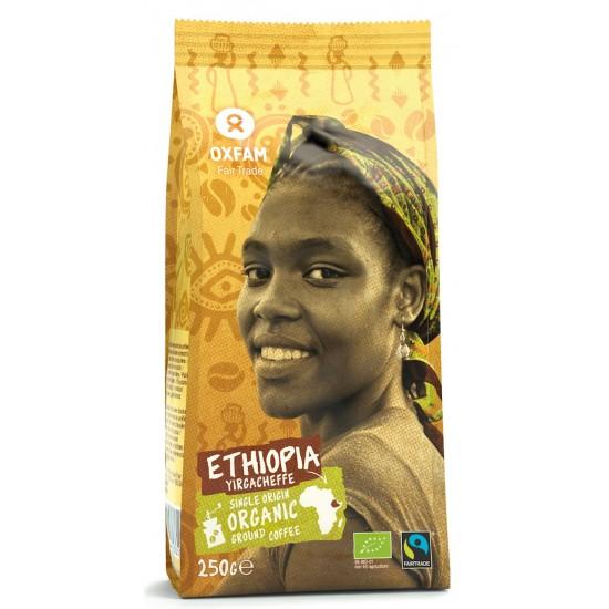 KAWA MIELONA ARABICA 100% YIRGACHEFFE ETIOPIA FAIR TRADE BIO 250 g - OXFAM