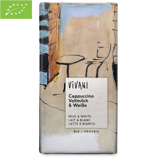 CZEKOLADA CAPPUCCINO BIO 100 g - VIVANI