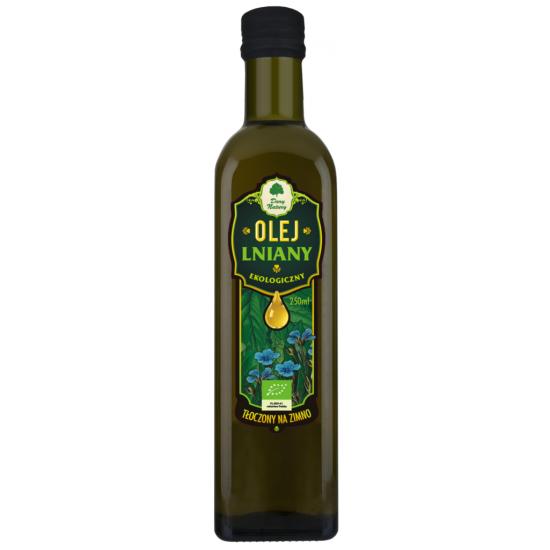OLEJ LNIANY VIRGIN BIO 250 ml - DARY NATURY