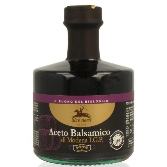 OCET BALSAMICZNY Z MODENY PREMIUM BIO 250 ml - ALCE NERO