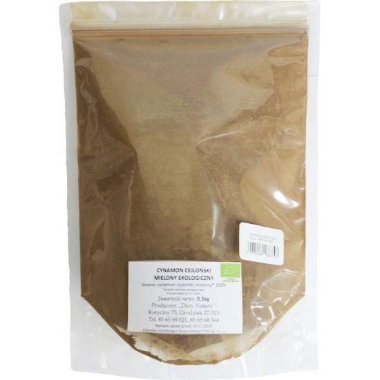 CYNAMON CEJLOŃSKI MIELONY BIO 500 g - HORECA (DARY NATURY)