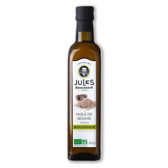 OLEJ SEZAMOWY VIRGIN BIO 500 ml - JULES BROCHENIN