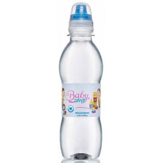 WODA ŹRÓDLANA NIEGAZOWANA BOY 250 ml - BABY ZDRÓJ