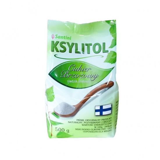 KSYLITOL 500 g (TOREBKA) - SANTINI (FINLANDIA)