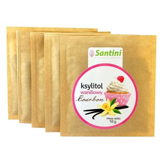 KSYLITOL WANILIOWY 16 g - SANTINI (FINLANDIA)