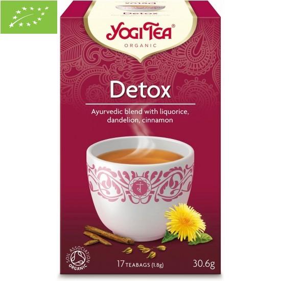 HERBATKA DETOX BIO (17 x 1,8 g) 30,6 g - YOGI TEA