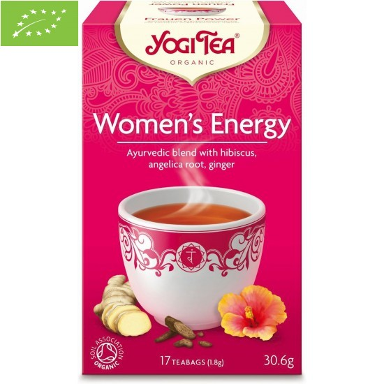 HERBATKA DLA KOBIET - ENERGIA (WOMEN'S ENERGY) BIO (17 x 1,8 g) 30,6 g - YOGI TEA