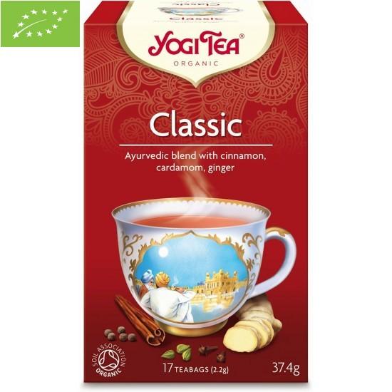 HERBATKA KLASYCZNA (CLASSIC)  BIO (17 x 2,2 g) 37,4 g - YOGI TEA