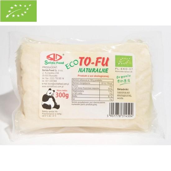 TOFU NATURALNE BIO 300 g - SOLIDA FOOD