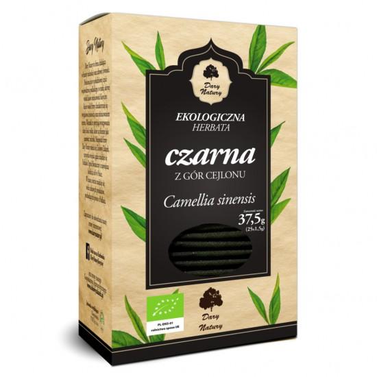 HERBATA CZARNA BIO (25 x 1,5 g) - DARY NATURY