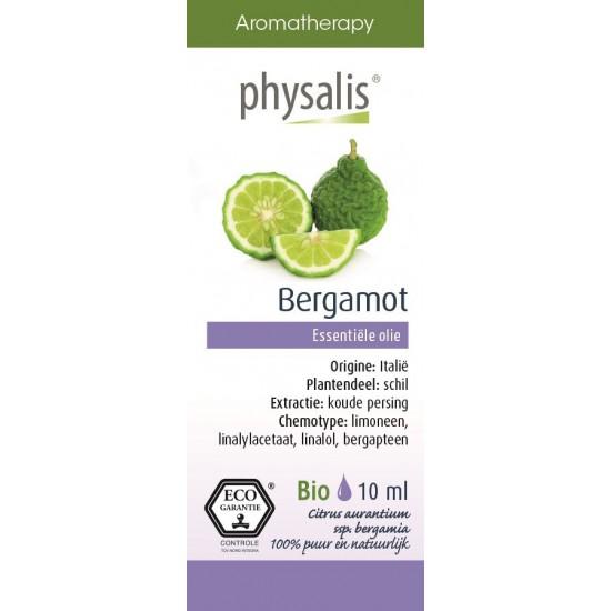 OLEJEK ETERYCZNY BERGAMOTKA (BERGAMOTE) EKO 10 ml - PHYSALIS