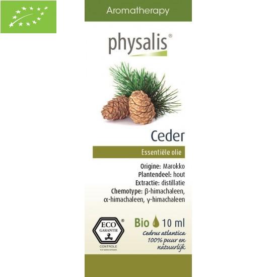 OLEJEK ETERYCZNY CEDR ATLASKI (CEDER) EKO 10 ml - PHYSALIS