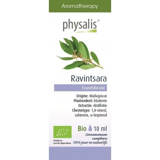 OLEJEK ETERYCZNY CYNAMONOWIEC KAMFOROWY (RAVINTSARA) BIO 10 ml - PHYSALIS