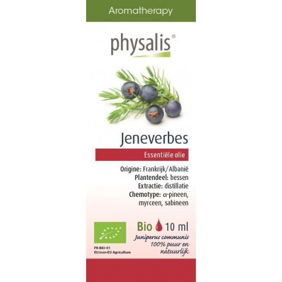 OLEJEK ETERYCZNY JAŁOWIEC POSPOLITY (JENEVERBES) BIO 10 ml - PHYSALIS