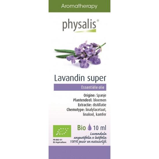 OLEJEK ETERYCZNY LAWENDA POŚREDNIA (LAVANDIN SUPER) BIO 10 ml - PHYSALIS