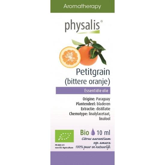 OLEJEK ETERYCZNY DRZEWO POMARAŃCZOWE (PETITGRAIN) BIO 10 ml - PHYSALIS