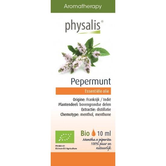 OLEJEK ETERYCZNY MIĘTA PIEPRZOWA (PEPERMUNT) BIO 10 ml - PHYSALIS