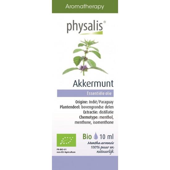OLEJEK ETERYCZNY MIĘTA POLNA (AKKERMUNT) BIO 10 ml - PHYSALIS
