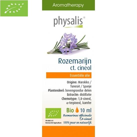 OLEJEK ETERYCZNY ROZMARYN LEKARSKI (ROZEMARIJN) BIO 10 ml - PHYSALIS