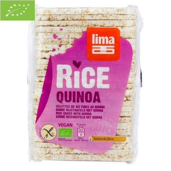 Wafle ryżowe z quinoa BIO...