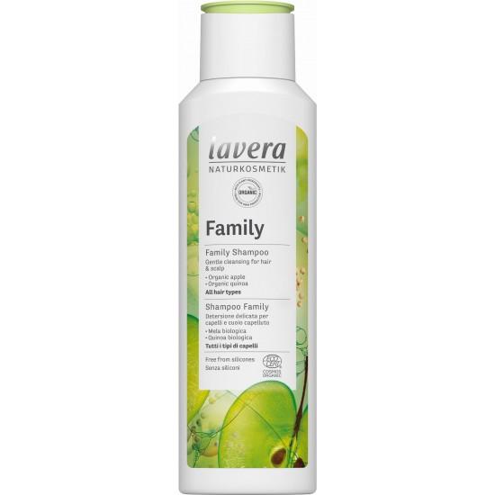 Szampon pielęgnacyjny dla całej rodziny bio-jabłko i bio-quinoa 250ml – LAVERA