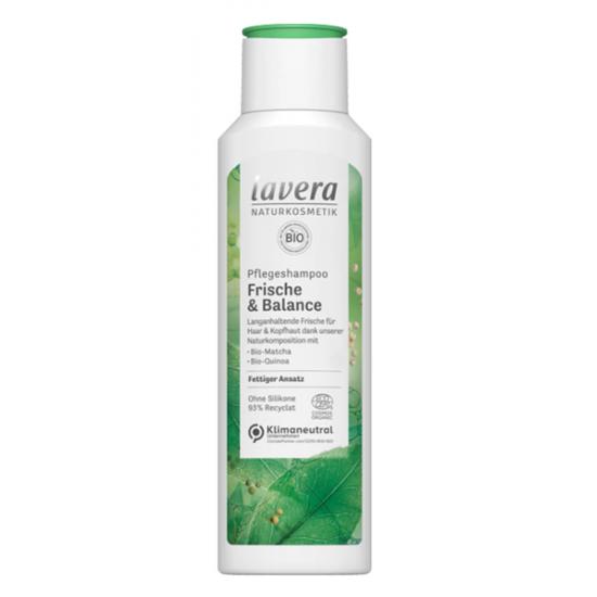 Szampon do włosów przetłuszczających się bio-matcha i bio-quinoa 250 ml – LAVERA