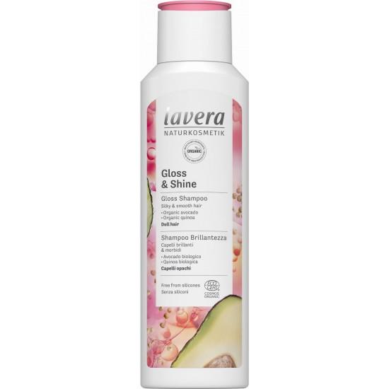 Szampon nabłyszczający bio-awokado i bio-quinoa 250ml – LAVERA