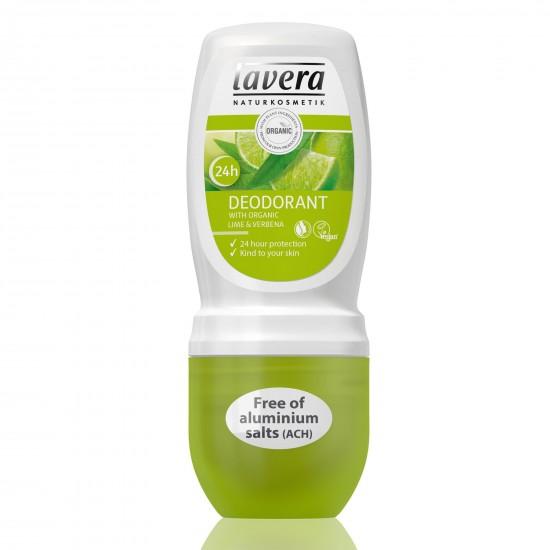 Dezodorant roll-on LIME SENSATION z wyciągiem z bio-limonki 50 ml – LAVERA
