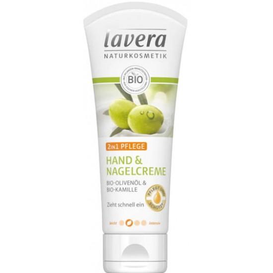 Krem do rąk i skórek bio-oliwą z oliwek i rumiankiem 50ml – LAVERA
