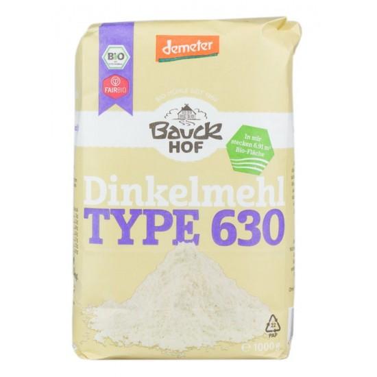 Mąka Orkiszowa Jasna BIO Demeter 630 1kg - Bauckhof