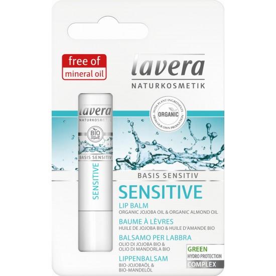 Balsam SENSITIVE do ust z olejem migdałowym i bio-jojoby – LAVERA
