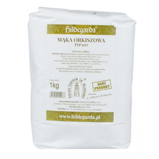 Mąka orkiszowa TYP 650 1 kg - Hildegarda