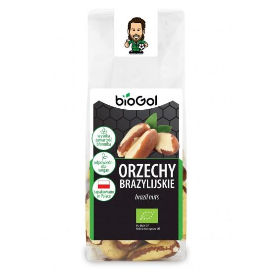 ORZECHY BRAZYLIJSKIE BIO 100 g - BIOGOL