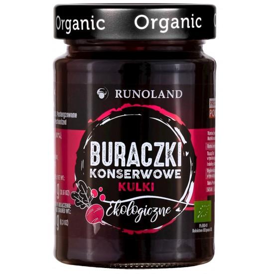 BURACZKI KONSERWOWE KULKI BIO 300 g (180 g) - RUNOLAND